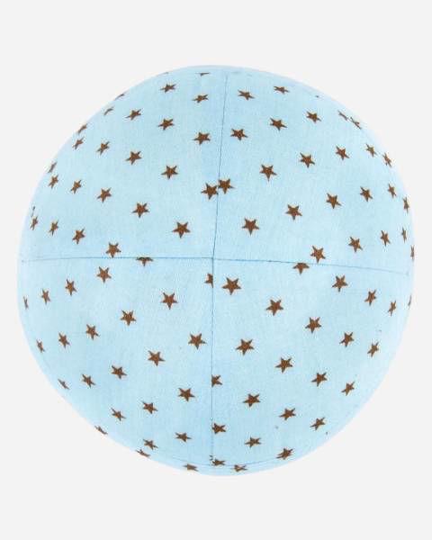 Stars on Turquoise Designer Yamaka